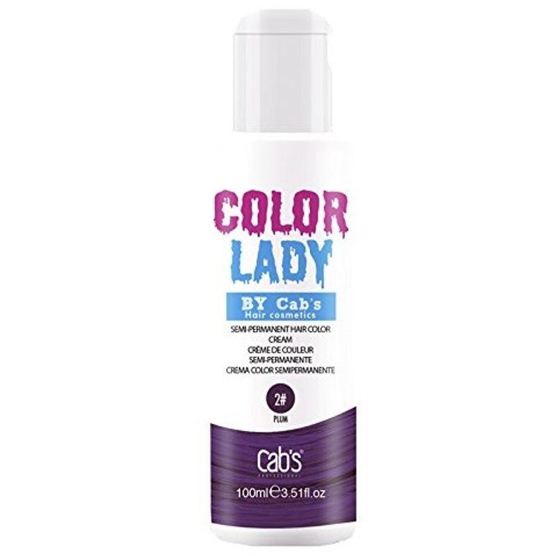 Cab's Professional Color Lady Semi-Permanent Hair Color Cream