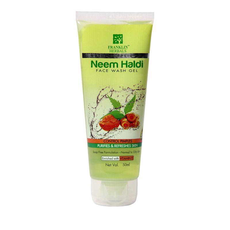 Franklin Herbals Neem Haldi Face Wash - NYKFRNKL00007