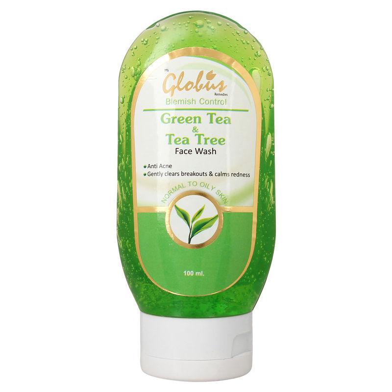 Globus Remedies Green Tea & Tea Tree Face Wash