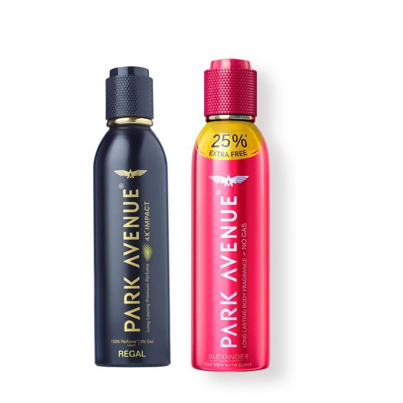 Park Avenue Premium Perfume Regal + Free Body Fragrance Alexander