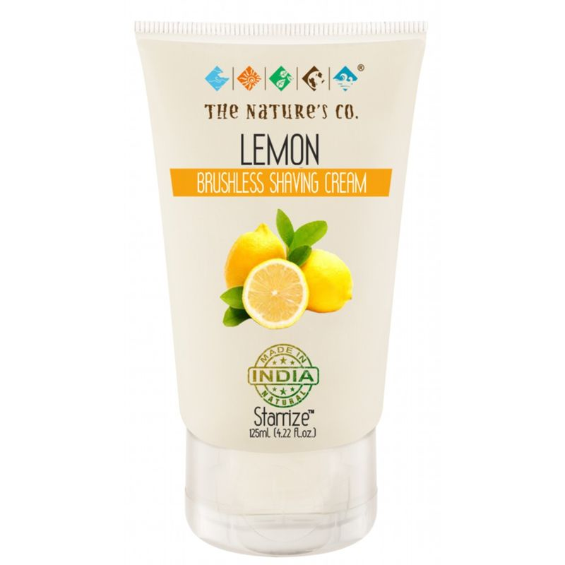 The Nature's Co. Lemon Brushless Shaving Cream