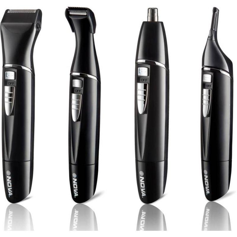 Buy Nova Ng 910 100 Waterproof Portable Grooming Kit For Men Black