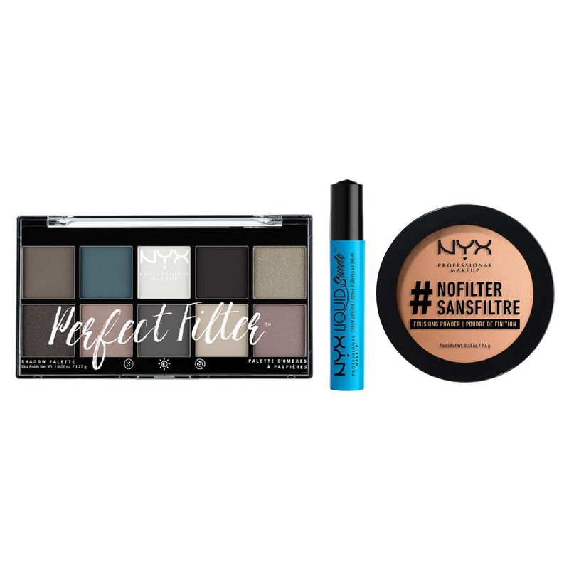 NYX Professional Makeup No Filter Needed Combo 3