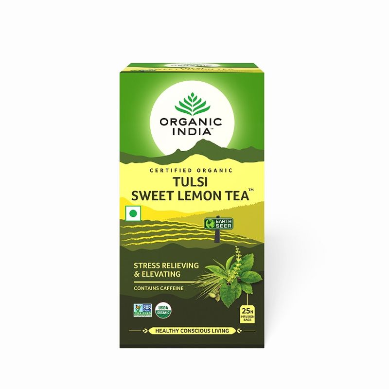 Organic India Tulsi Sweet Lemon Tea