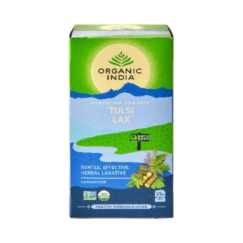Organic India Tulsi Lax Tea (18 Tea Bag)