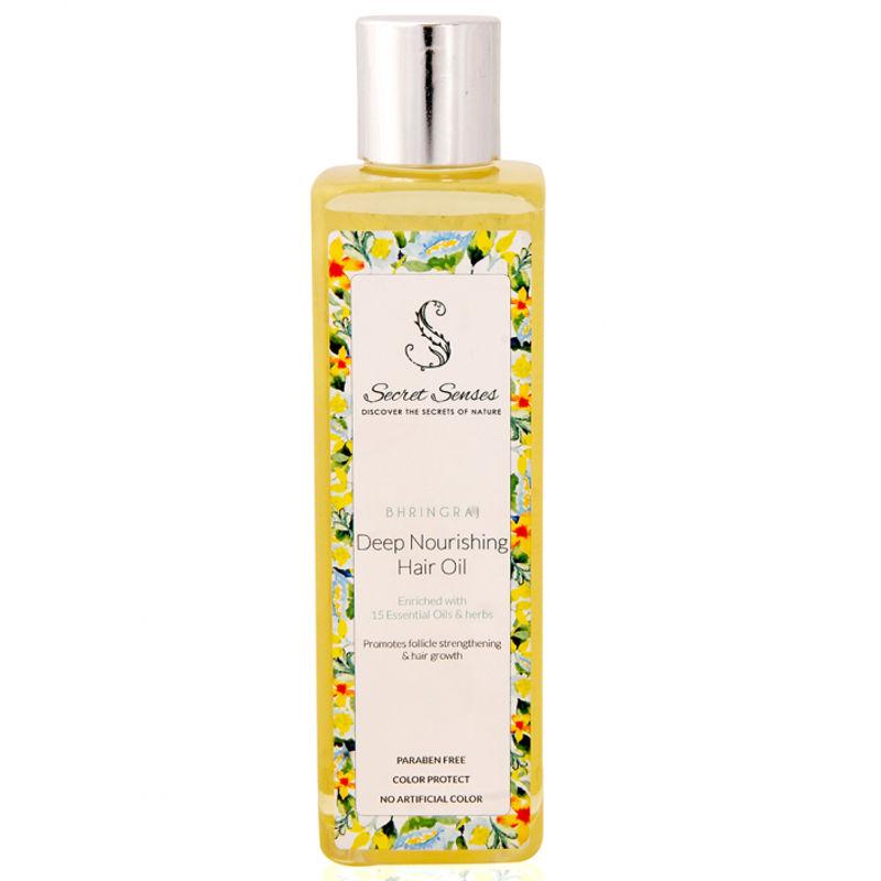 Secret Senses Bhringraj Deep Nourishing Hair Oil