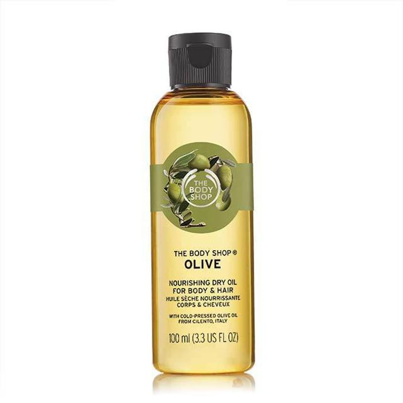 The Body Shop Olive Nourshing Dry Oil For Body & Hair Oil