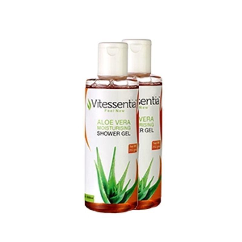 Vitessentia Aloe Moisturising Shower Gel Pack Of 2