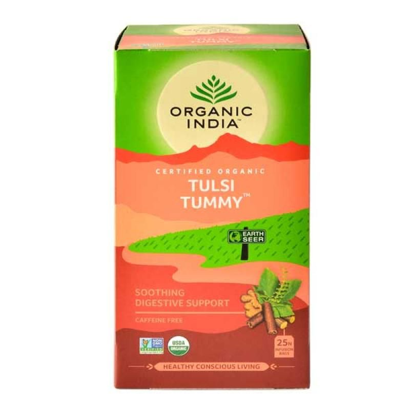 Organic India Tulsi Tummy Tea (25 Tea Bag)