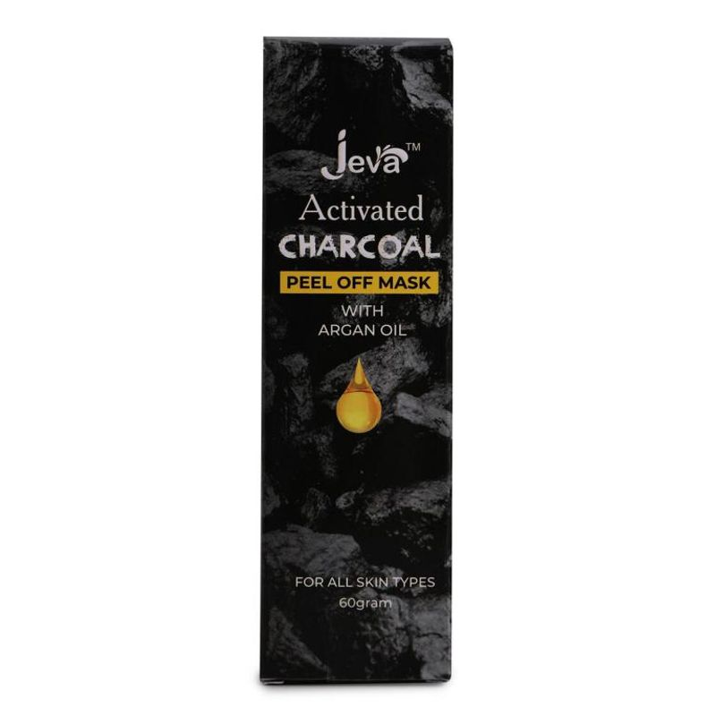 Jeva Activated Charcoal Peel Off Mask With Argan Oil