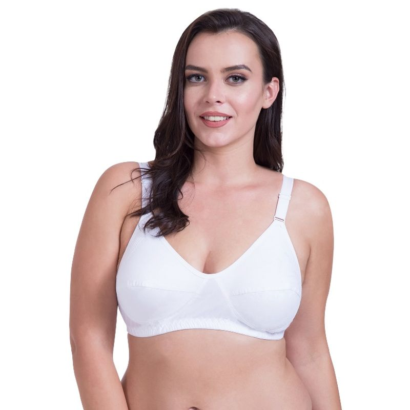 2954719a428 Rajnie Side Shaper Full Coverage Plus Size Cotton Bra (Pack of 3) at  nykaa.com