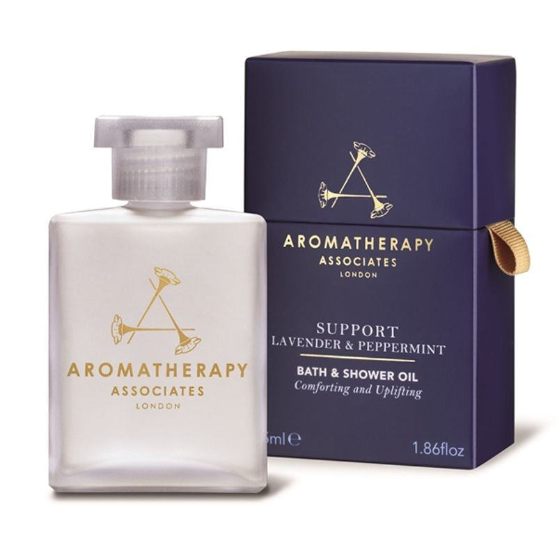 Aromatherapy Associates Support Lavender And Peppermint Bath And Shower Oil