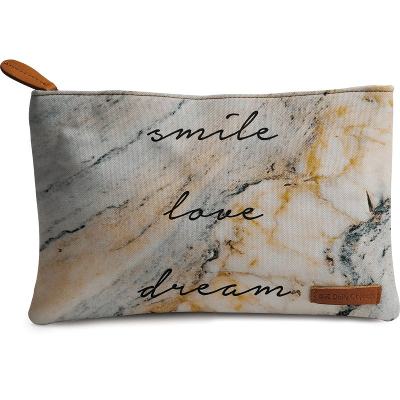 DailyObjects Smile Love Dream Carry-All Pouch Medium