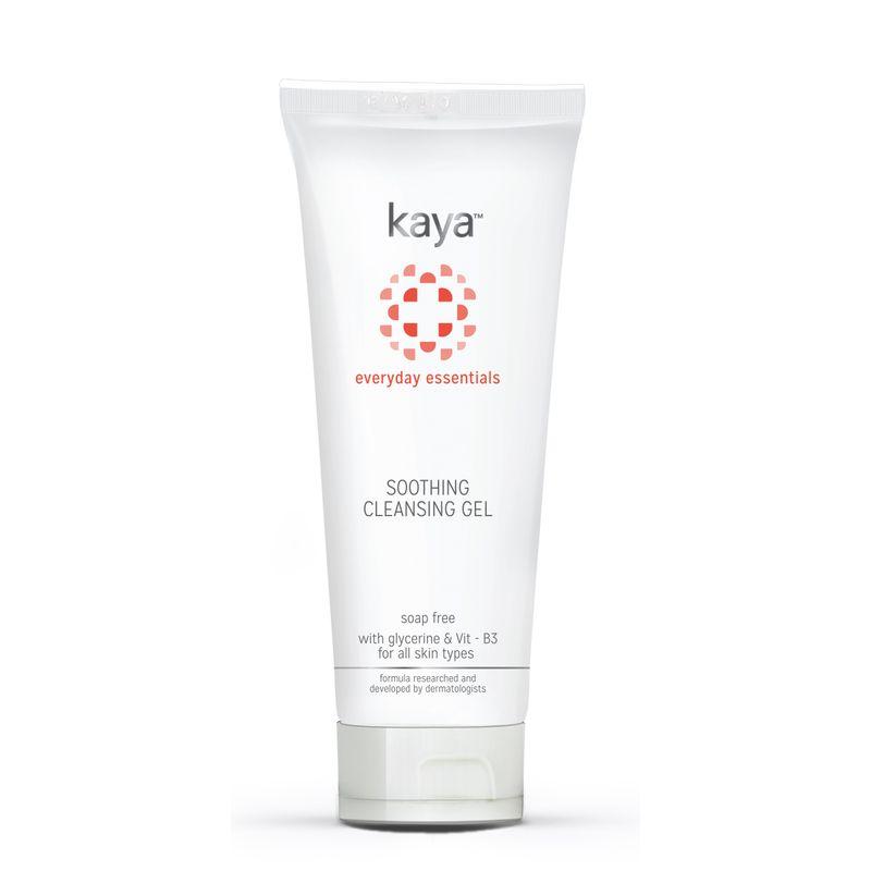kaya cleanser buy kaya soothing cleansing gel online in india nykaa