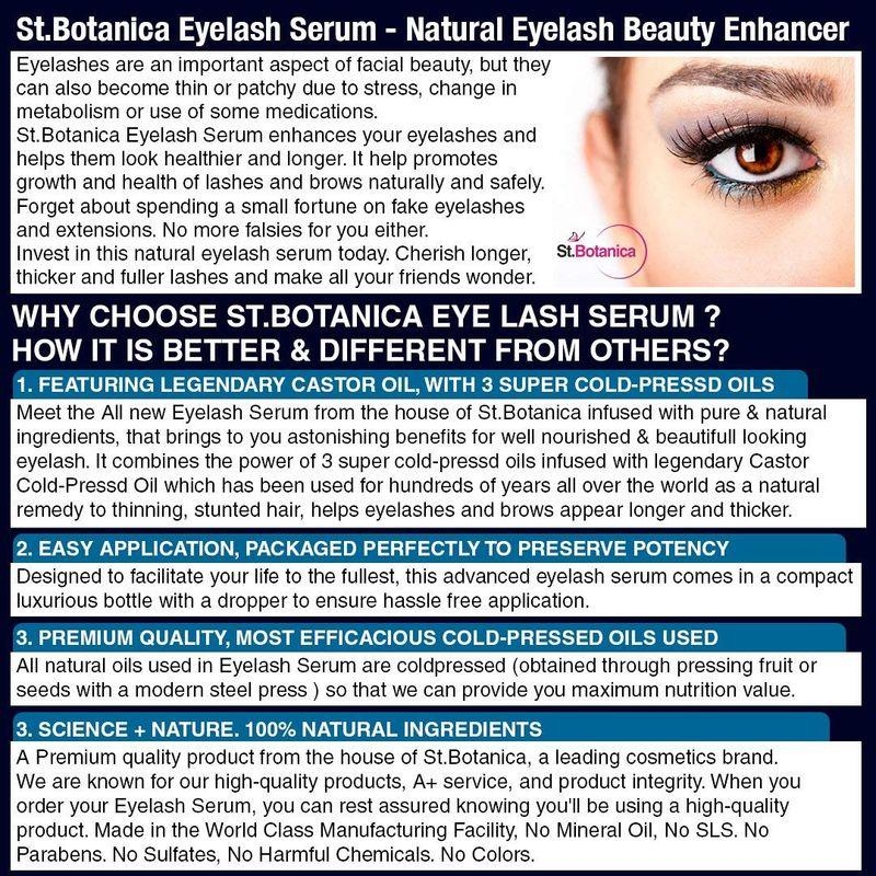 Sttanica Eyelash Growth Serum At Nykaa