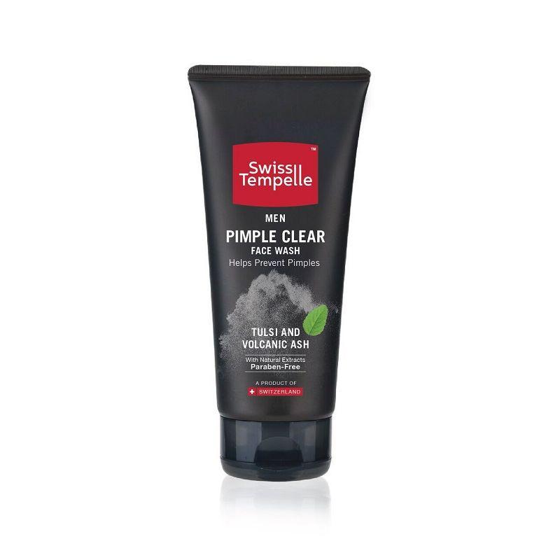 Swiss Tempelle Men Pimple Clear Face Wash
