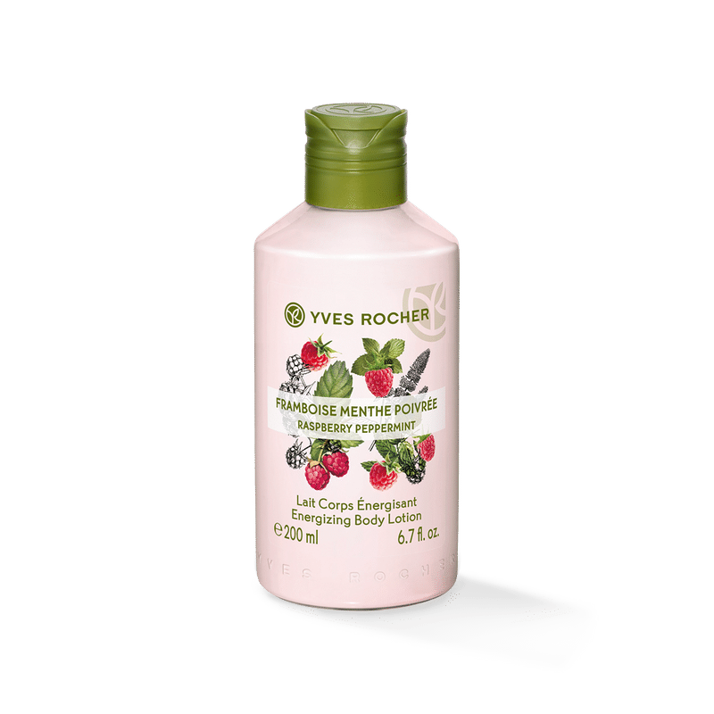 Yves Rocher Energizing Body Lotion - Raspberry Peppermint