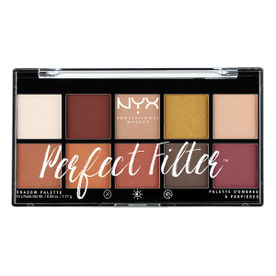 NYX Professional Makeup Perfect Filter Eyeshadow Palette - R..