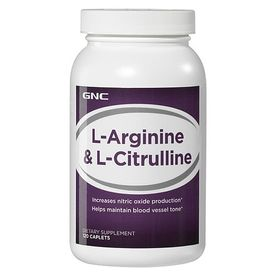 GNC L-Arginine & L-Citrulline (120 Caps)