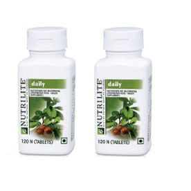 Amway Nutrilite Daily 120 Tablets - Pack of 2