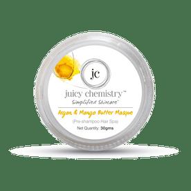 Juicy Chemistry Argan & Mango Butter Masque (Pre Shampoo Hair Spa)