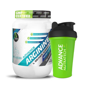 Advance Nutratech Arginine Aminos 240 Capsules With Free Shaker