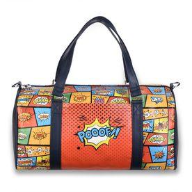 b6a65a27a6 Thathing Comic Strip Spacious Duffel Bag