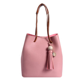 Lino Perros Faux Leather Pink Handbag b525f728e8
