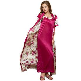 7fd011f71b Satin Nighty  Buy Women s Satin Nightwear Set Online in India