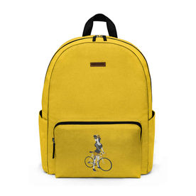 9f3e5a89a8 DailyObjects Bike Girl City Compact Backpack