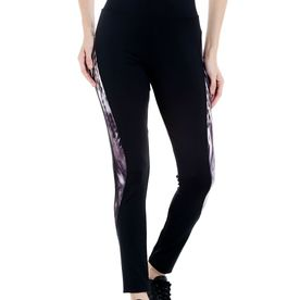 ecafffdf5a Tuna London Black Solid Poly Cotton Lycra Track Pants For Wo.