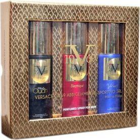 88ea071aa2 Versace 19.69 Italia - Prive Oudh + Electrique + Vibrante Deodorant Gift  Set For Men (