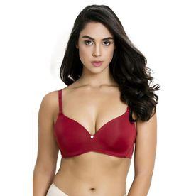 c783c0409 Zivame Padded Wirefree T-Shirt Bra - Red