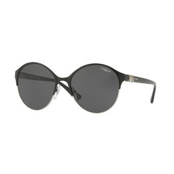 885c3604d7717 Vogue Women s Sunglasses - Buy Vogue Grey on Black Silver Frame ...
