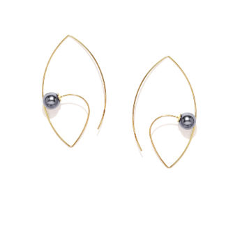 63e3e24ec10 Tipsyfly Midnight Pearl Earrings at Nykaa.com