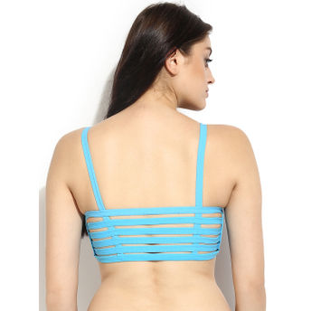32f5786944ad5 Da Intimo Wire Free Cage Back Sky Blue Bralette at Nykaa.com