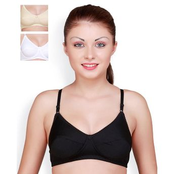 121eae3c6b3d9 Floret Pack of 3 Full Coverage Padded Bras - Multi-Color at Nykaa.com
