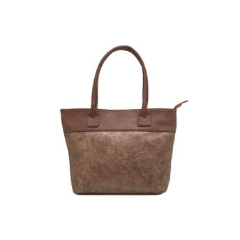 Tarusa Tote Bags - Buy Tarusa Copper Faux Leather Solid Tote Bag ... 218530b2c52fb