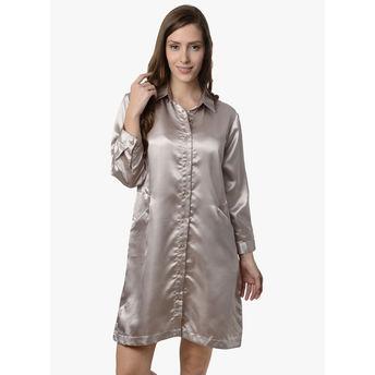 5c446a1e0e Da Intimo Sleep Shirt - Grey at nykaa.com