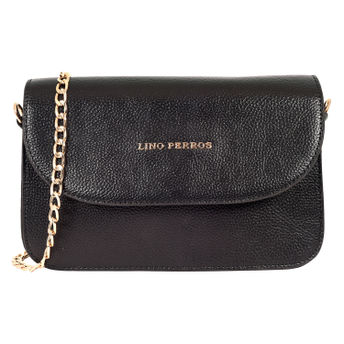 Lino Perros Black Leatherette Sling Bag at Nykaa.com 2fedae435339d