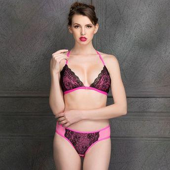 Clovia Lace Non-Padded Non-Wired Front Open Bralette   Bikini ... 7aa05ecbe