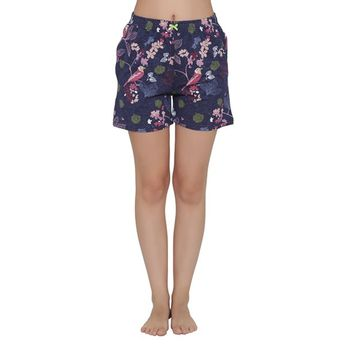 8bfd0d1cfe Clovia Shorts - Buy Clovia Cotton Rich Floral Print Boxer Shorts ...