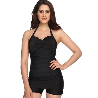 1cb71bf051ce8 Nidhi Munim India Black Sweetheart Boy Leg Swimsuit at nykaa.com