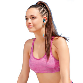 26bbeb9c9665b Enamor Wirefree Padded Sports Bra - Meida Pink (M) at Nykaa.com