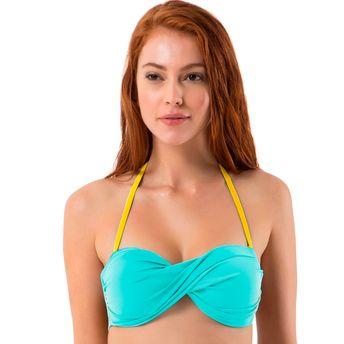 b127ea77a5 Amante Green Swim Top at Nykaa.com