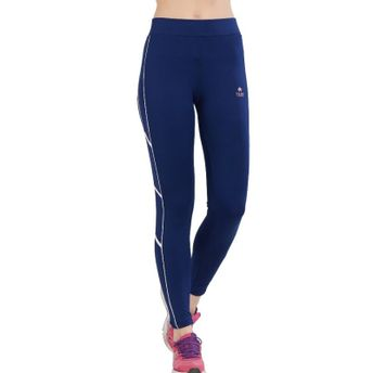 55dcdb583131 Tuna London Navy Blue Color Solid Tight Fit Track Pant For Women at ...