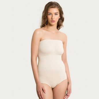 a85f8afd2af Zivame Medium Control Bodysuit With Bust - Skin at Nykaa.com