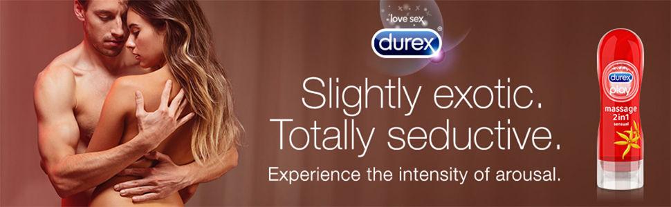 Durex Massage Sensual Lube Banner