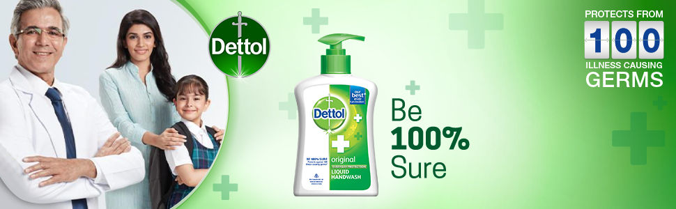 Dettol Be 100% Sure