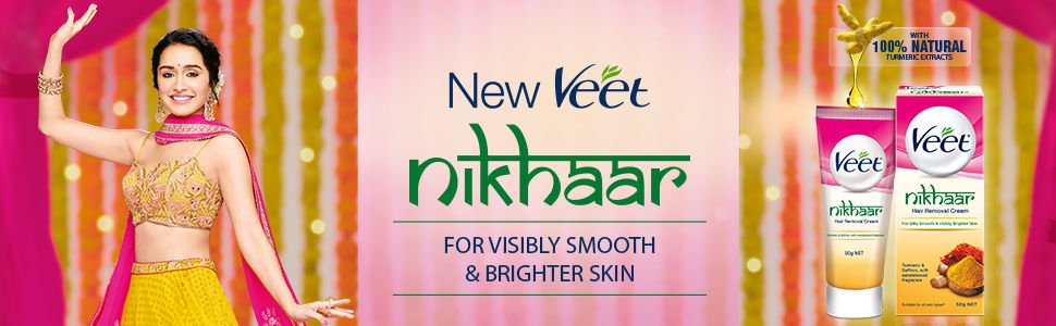 Veet Wax Stripe Banner